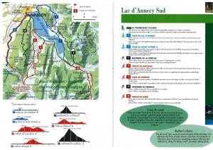 Tour du lac velo