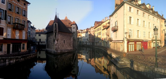 Vieille ville Annecy à 10 km